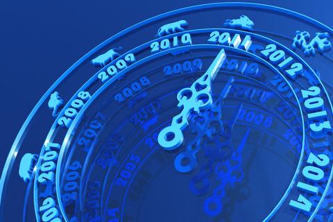 Astrologie bleu